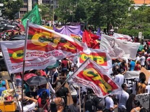 Atos em Belém do Pará, em defesa da Educação.