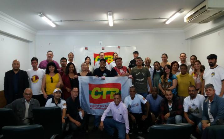Nova direção da CTB-SP debate o sindicalismo pós-reforma trabalhista