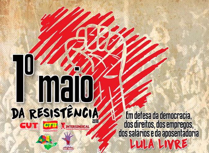 1º de Maio da Resistência: na capital paulista, a data terá ato político e show na praça da República