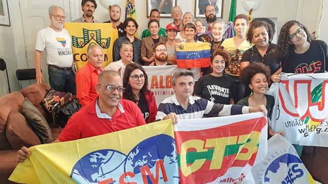 CTB se solidariza e defende as soberanias dos países da América Latina