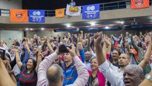 Fotos – Flávio Dino debate com sindicalistas em SP