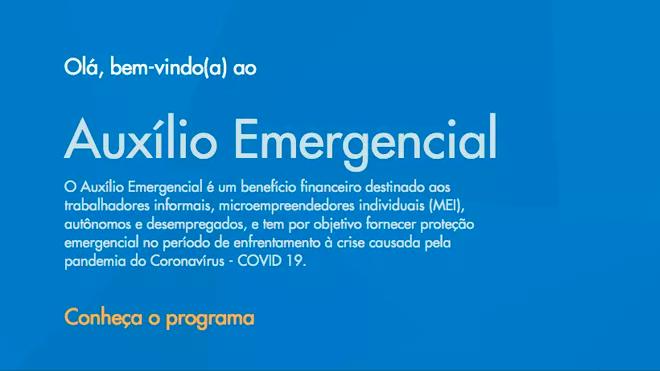 Como receber o Auxílio Emergencial