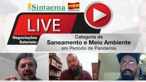 Live: Negociações Salariais da Categoria de Saneamento e Meio Ambiente de SP