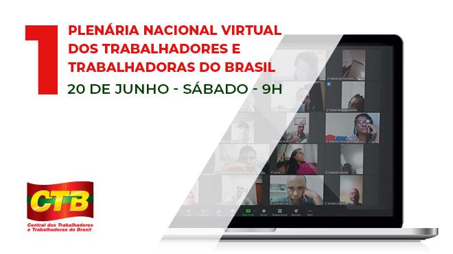 1º plenária Virtual da Classe trabalhadora