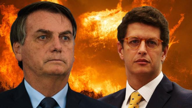 Os crimes ambientais de Ricardo Salles e Bolsonaro