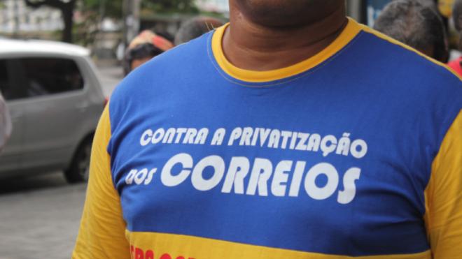 Nota das centrais sindicais: Todo apoio à greve dos trabalhadores e trabalhadoras dos Correios