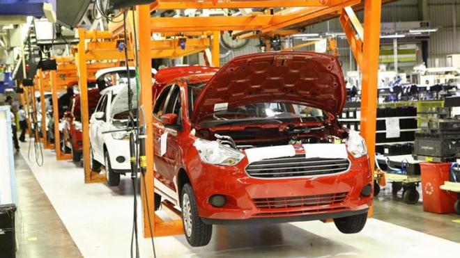 Metalúrgicos de Camaçari (BA) realizam passeata em defesa do emprego e contra encerramento abrupto das atividades da Ford no Brasil