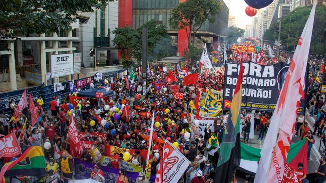 Galeria   #24J – Ato Fora Bolsonaro