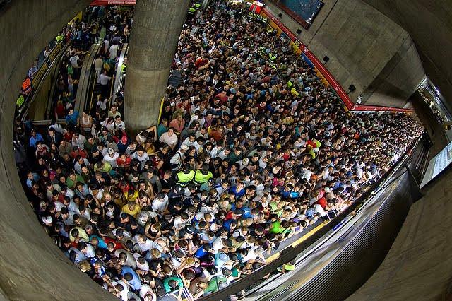 metro lotado3