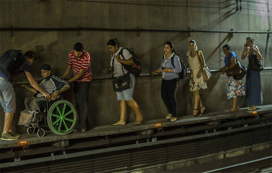 metro caos