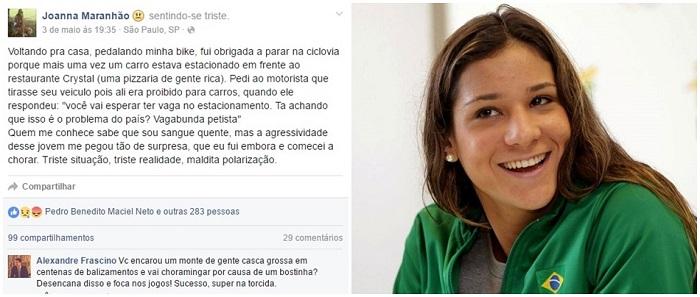 joanna maranhao odio petista