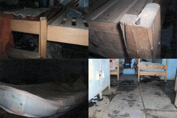 dormitorio defazenda flagrada em trabalho escravo