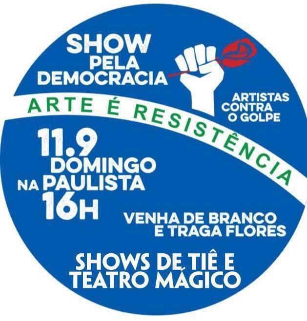 show pela democracia paulista 11 9