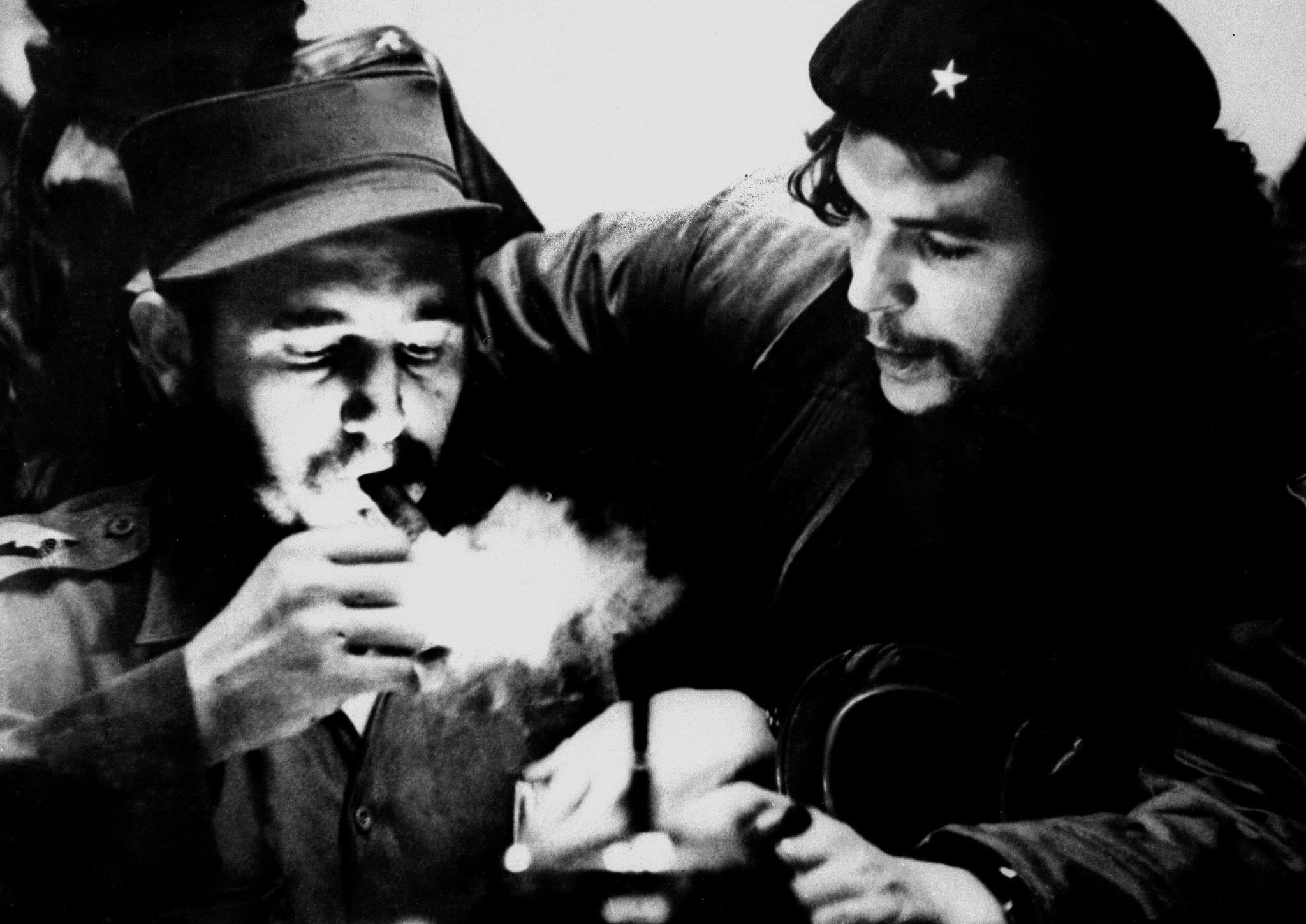 Fidel CASTRO guevara 1959 roberto salas