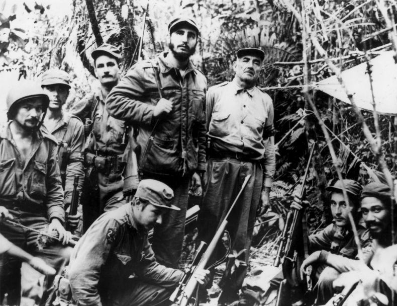 Fidel Castro guerrilha United Press International