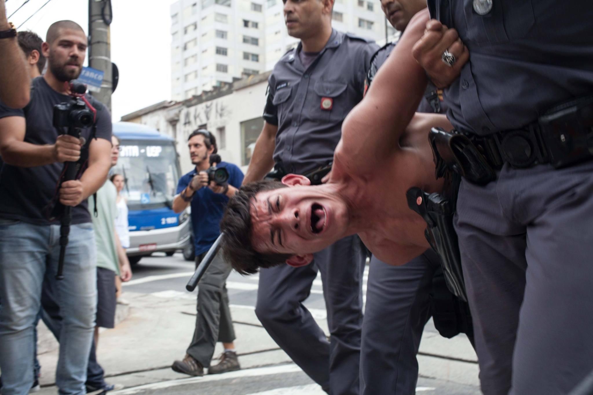 pm paulista prende estudante
