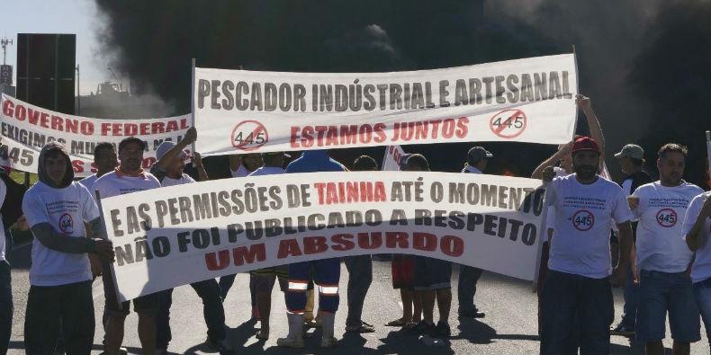 pescadores sc greve 2017