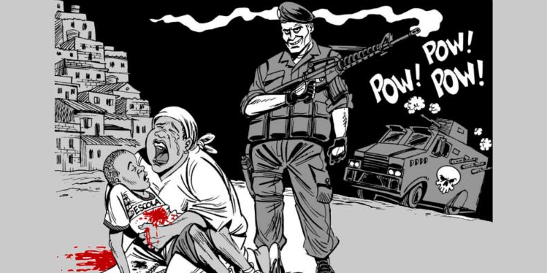 violencia negro latuff