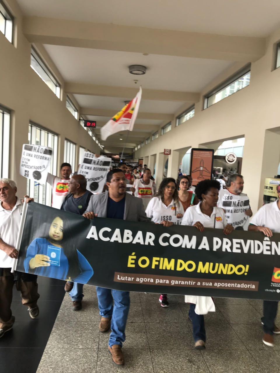 ctb sp aeroporto congonhas reforma previdencia adilson