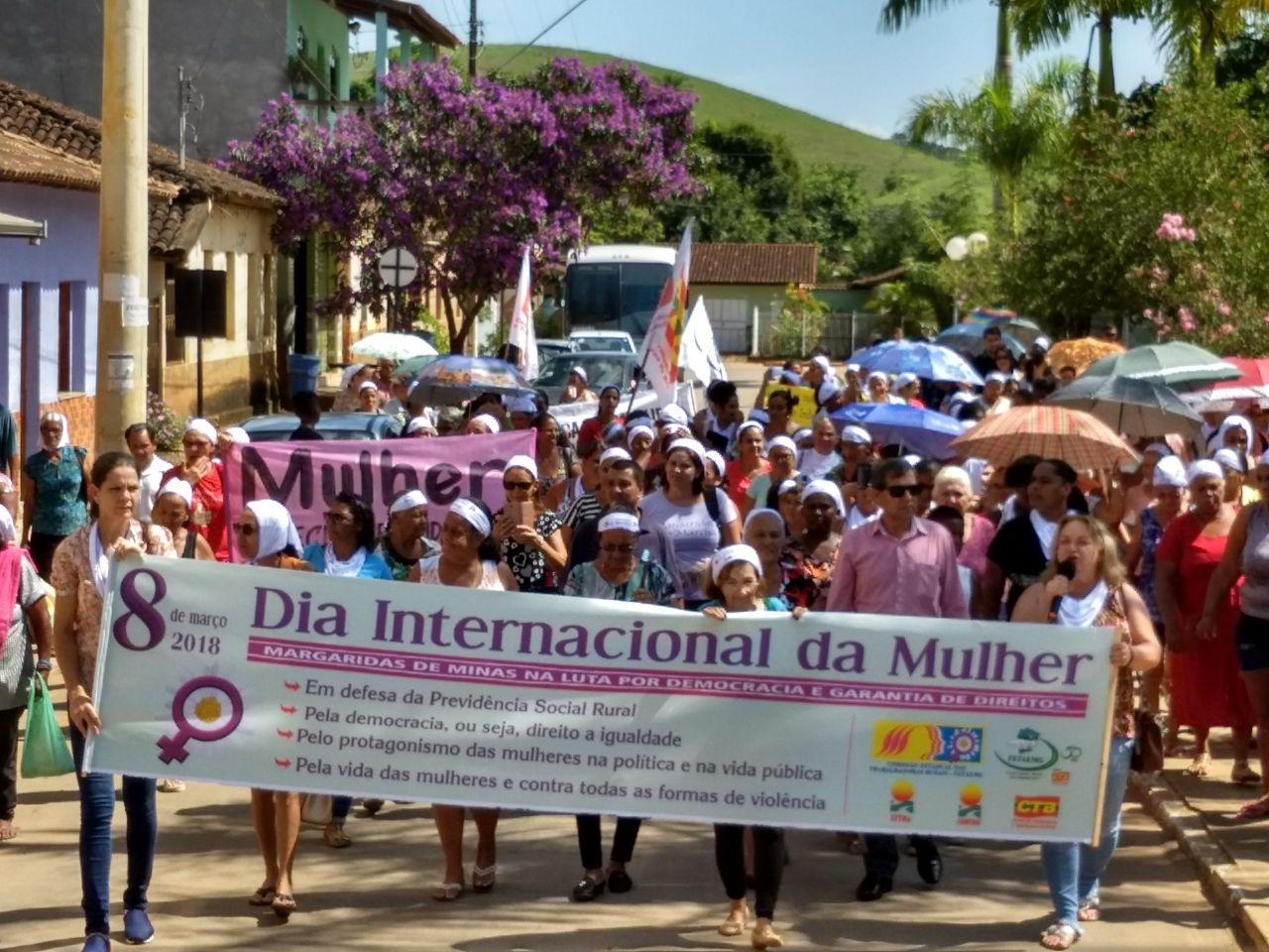 ctb mg abertura da semana do 8 de marco no municipio de bugre