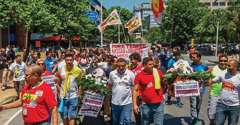 destaque sintect rj ato defesa direitos trabalhadores 12 03 2018