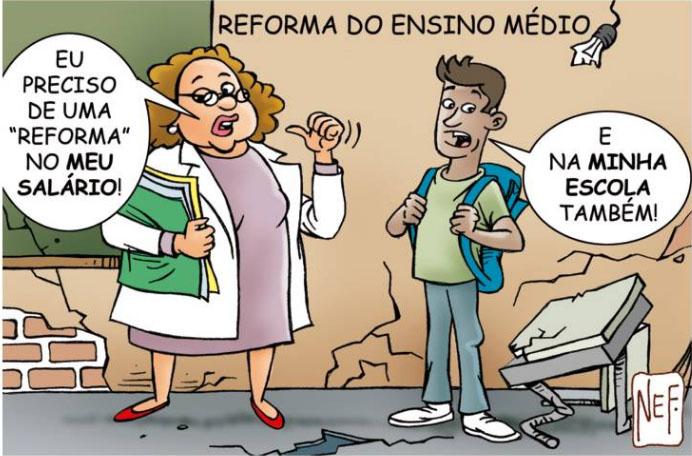 charge nef reforma ensino medio