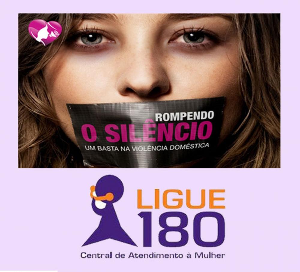 ligue 180 rompendo o silencio