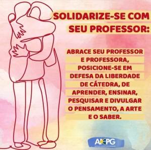 solidarize se com professor
