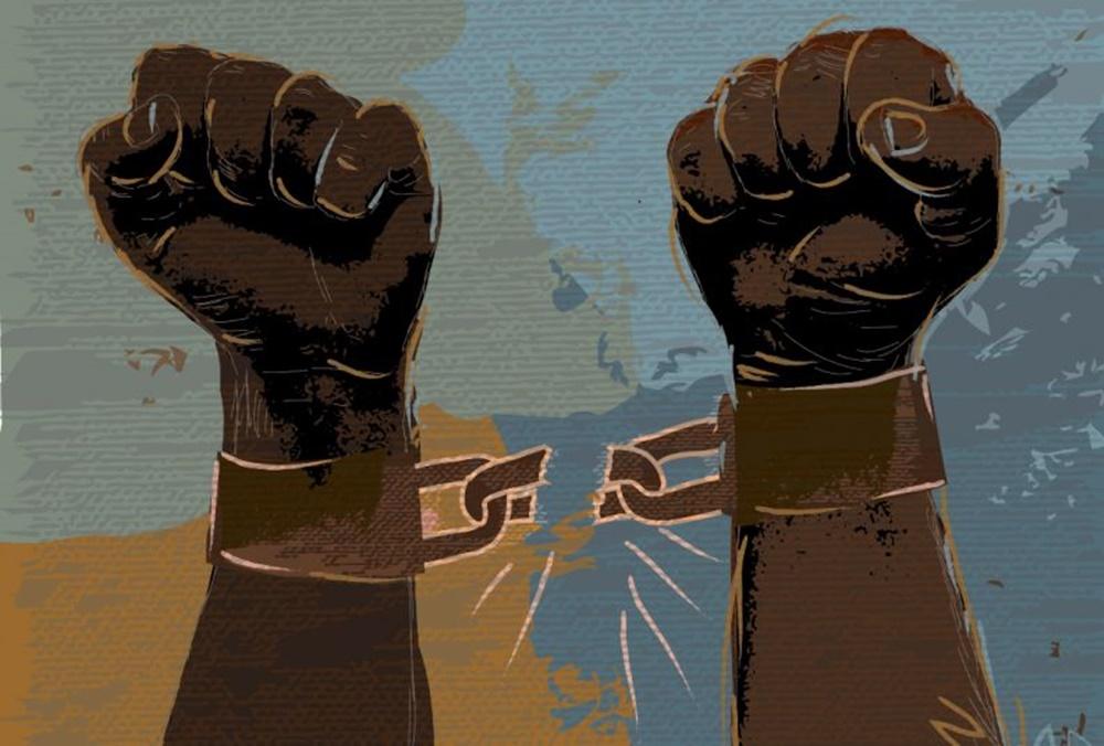 algemas negros libertacao escravos
